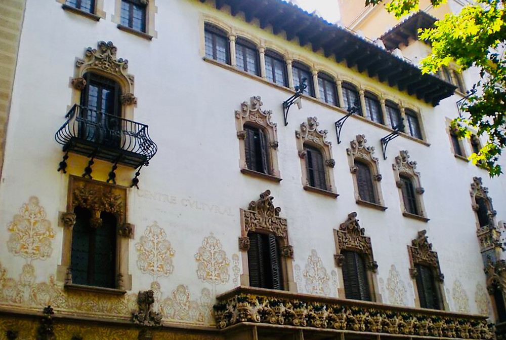 white facade of Casa Macaya