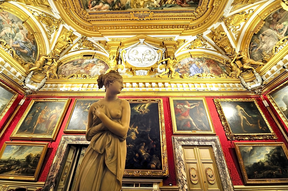 Anthony Canova's Venus Italica in the Palatine Gallery