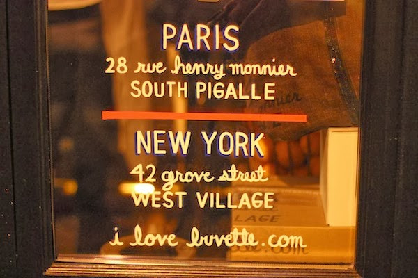Buvette in South Pigalle at 28 Rue Henry Monnier, a very cool street