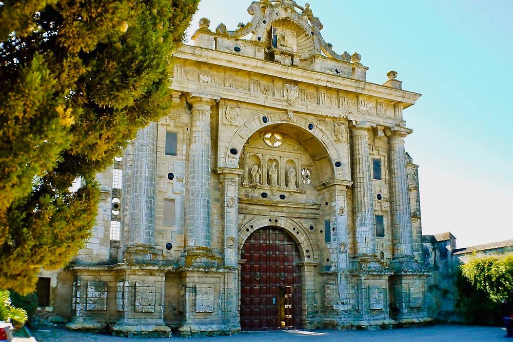 the Gothic Charterhouse of Jerez de la Frontera in Andalucia