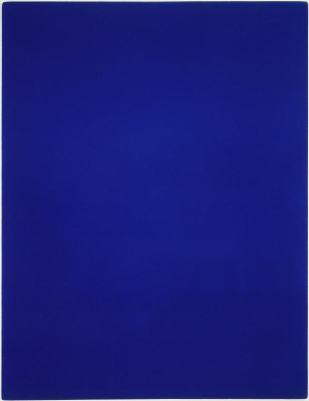 Blue Monochrome (IKB 3), 1960, Yves Klein