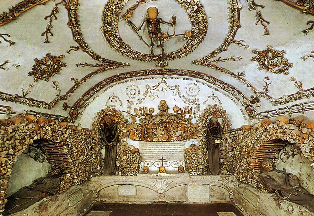 Crypt of the Three Skeleton in the Capuchin Crypt