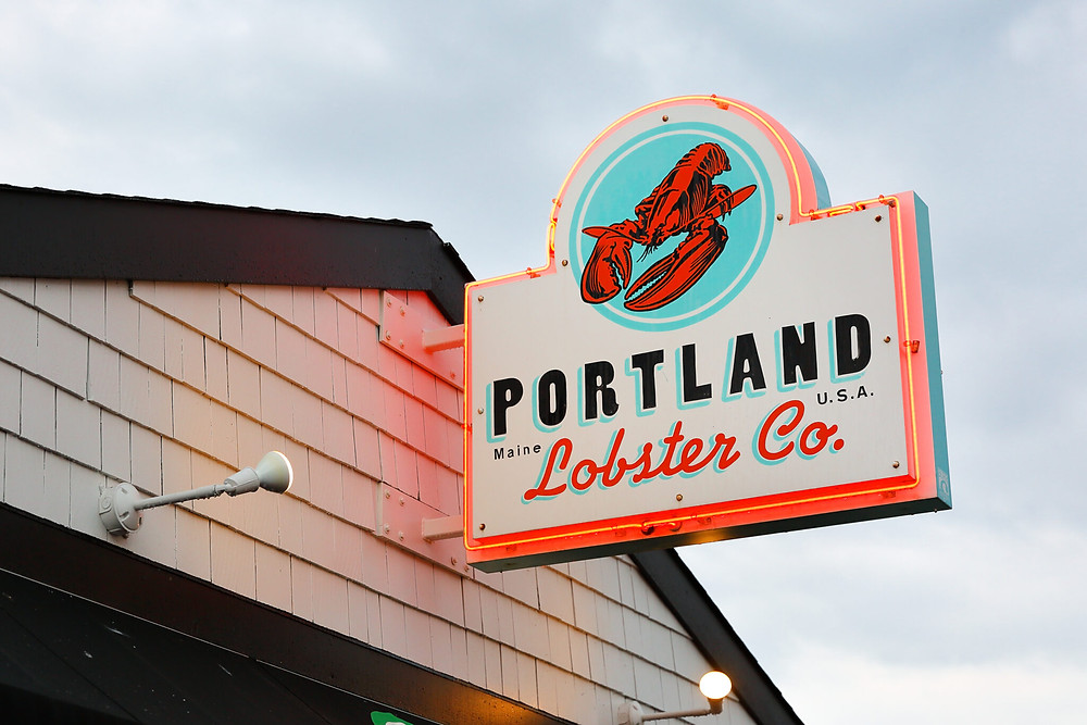 Portland Lobster Co., an excellent lunch spot