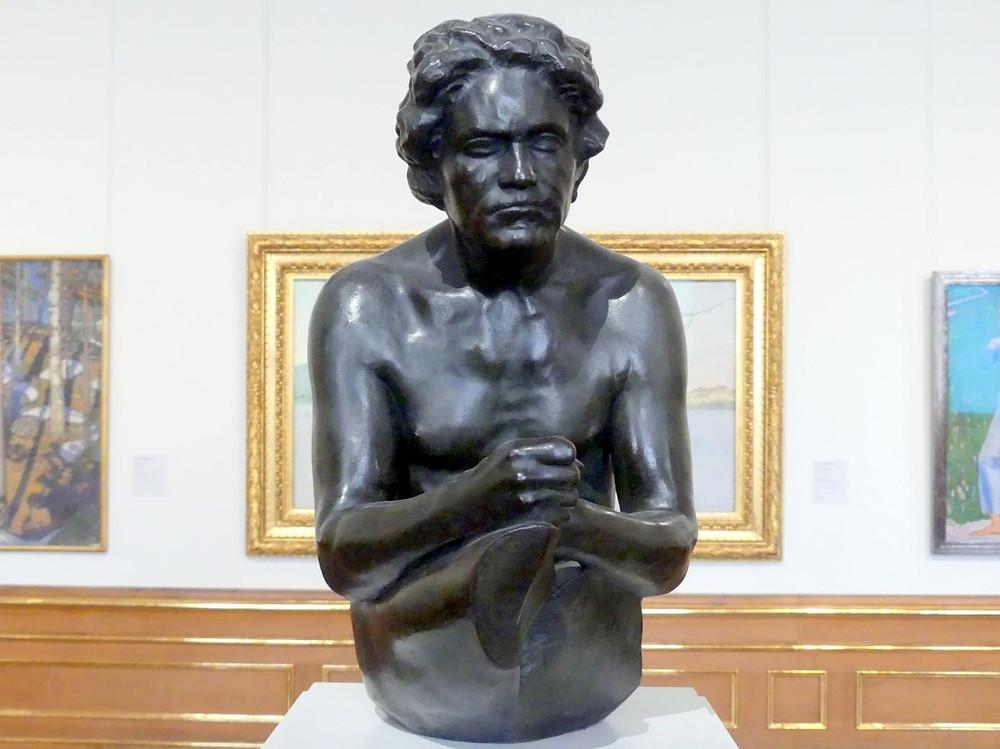 Max Klinger,  Bronze of Beethoven, 1907