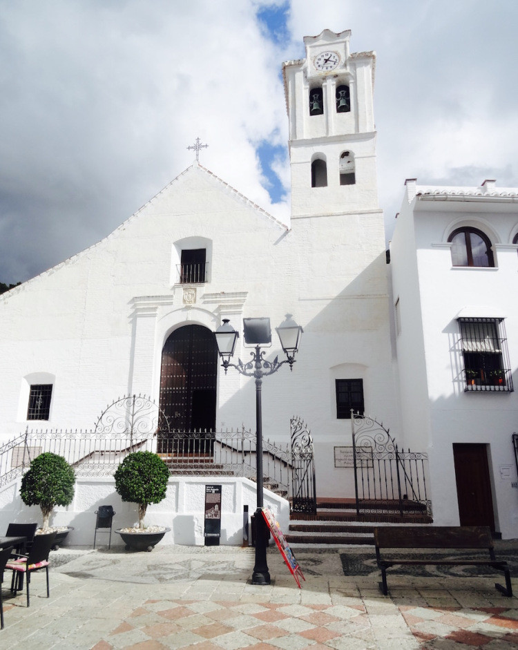 Church of Antonio in Frigiliana Spain