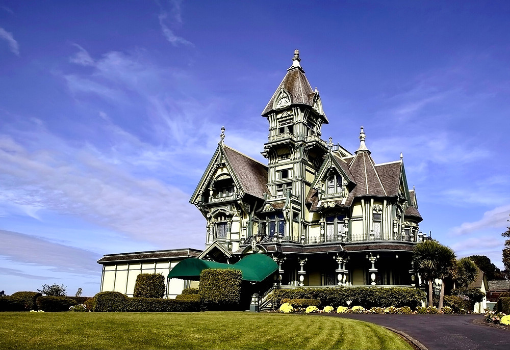Carson Mansion, a beautiful Victorian mansion in Eureka