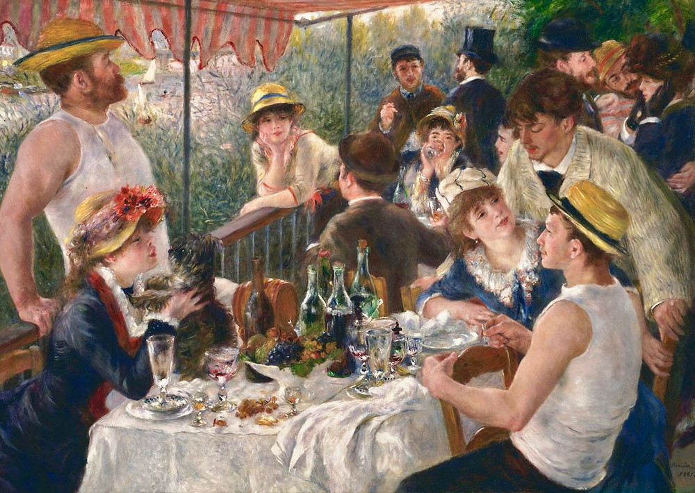 Renoir, Luncheon of the Boating Party, 1881