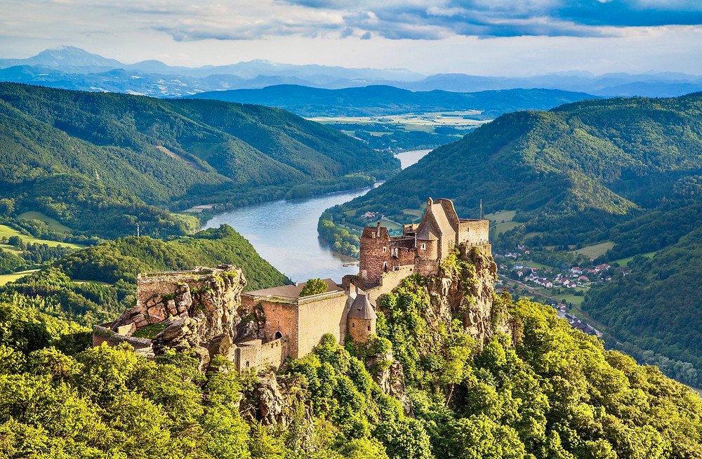 Aggstein Castle in the Wachau Valley