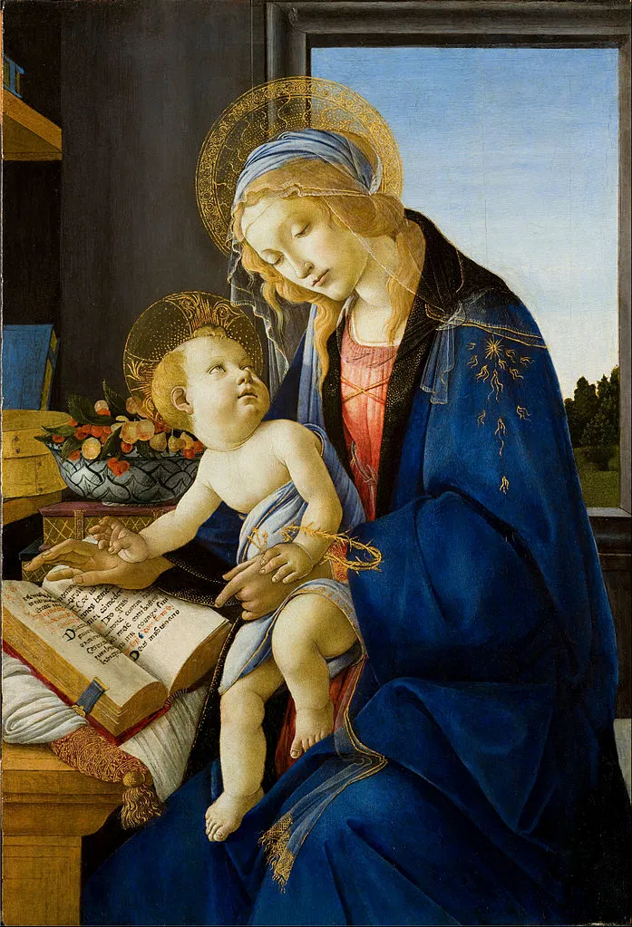 Botticelli, Madonna of the Book, 1480