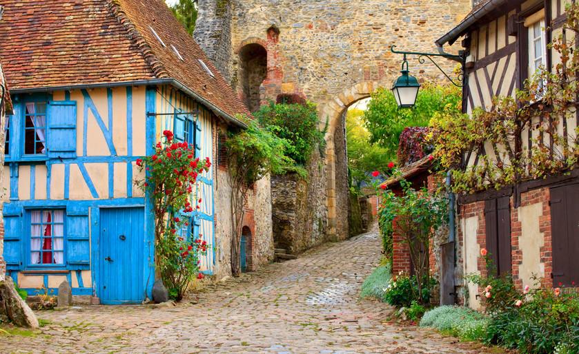 Gerberoy in Normandy