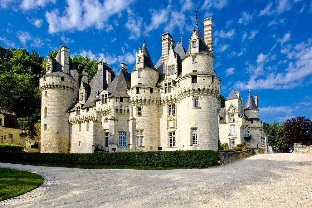 the romantically turreted Chateau d'Usse