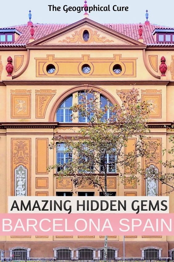 amazing hidden gems in Barcelona