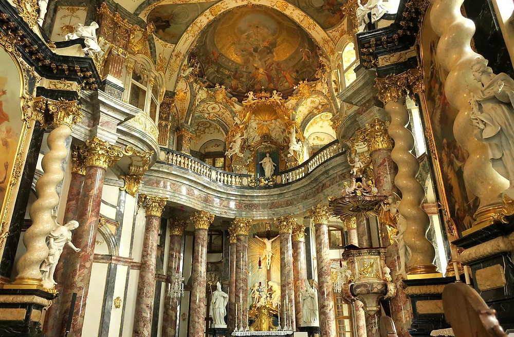 the chapel of the Wurzburg Residence
