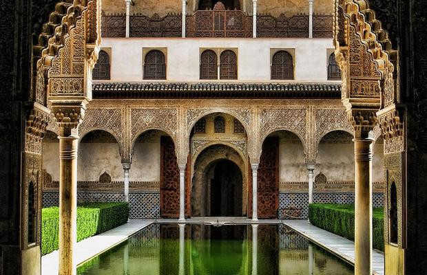 Courtyard of the Myrtles in Nasrid Palace