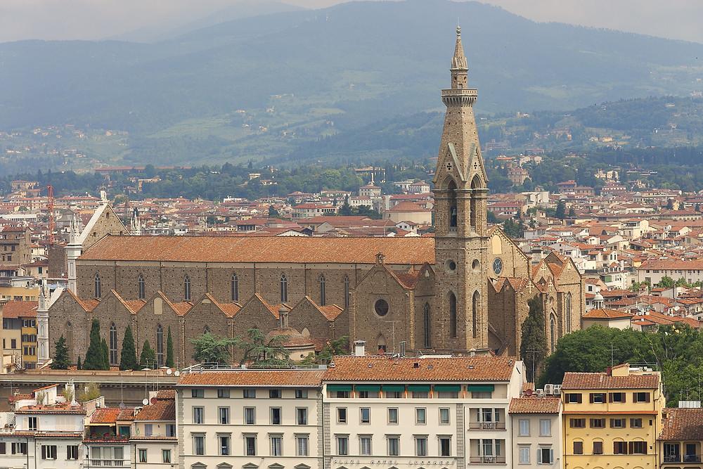 side view of Santa Maria Novella