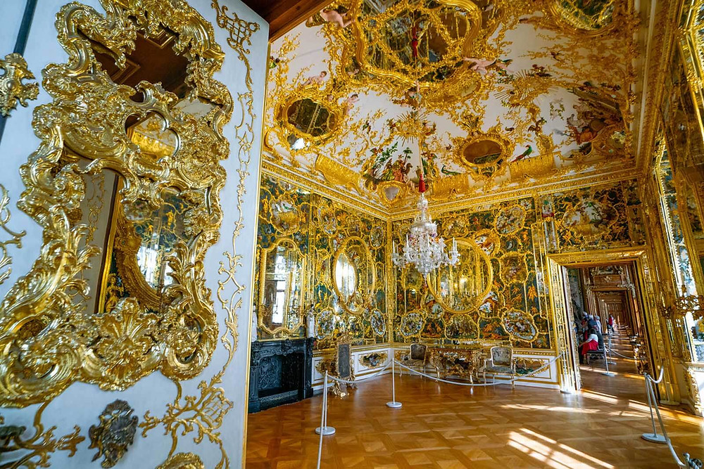 Mirror Cabinet at the Wurzburg Residence Palace