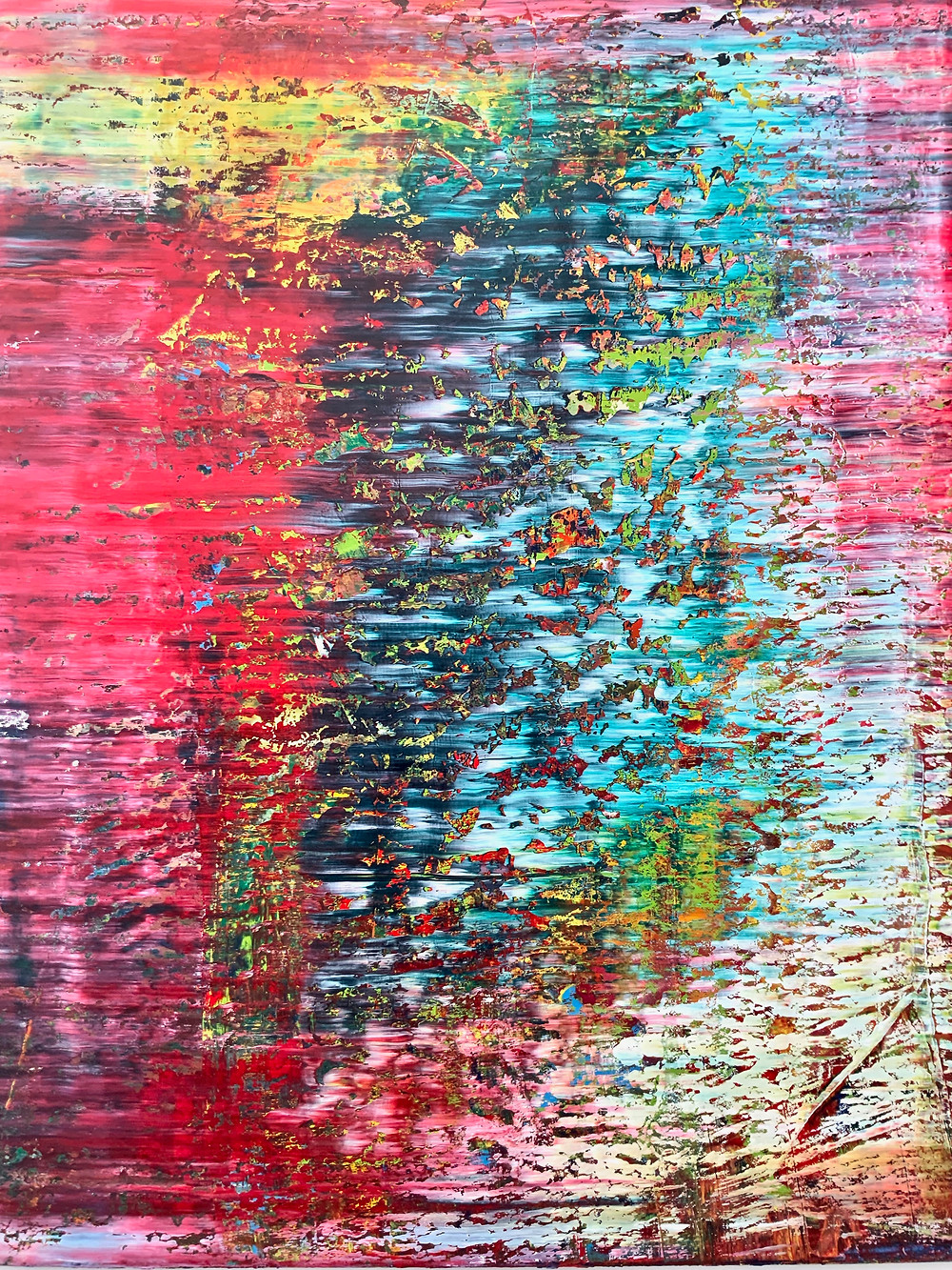 Gerhard Richter, Abstract Picture, 1991 -- in Nuremberg's Neues Musuem