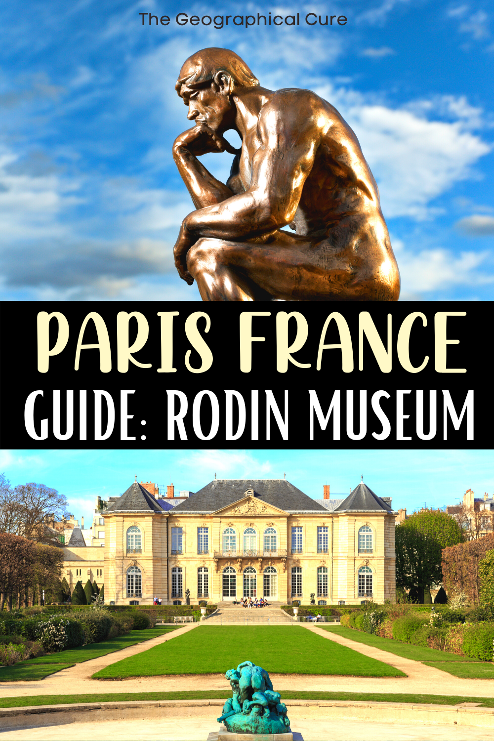ultimate guide to the Rodin Museum in Paris, one of Paris' best small museums