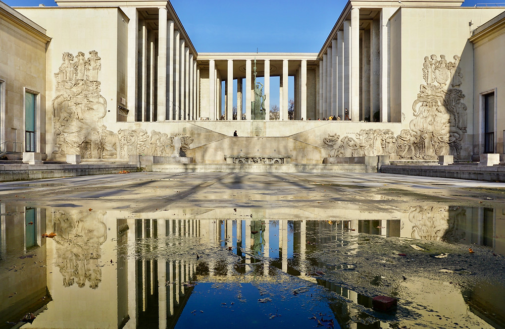 the Museum of Modern Art in Paris