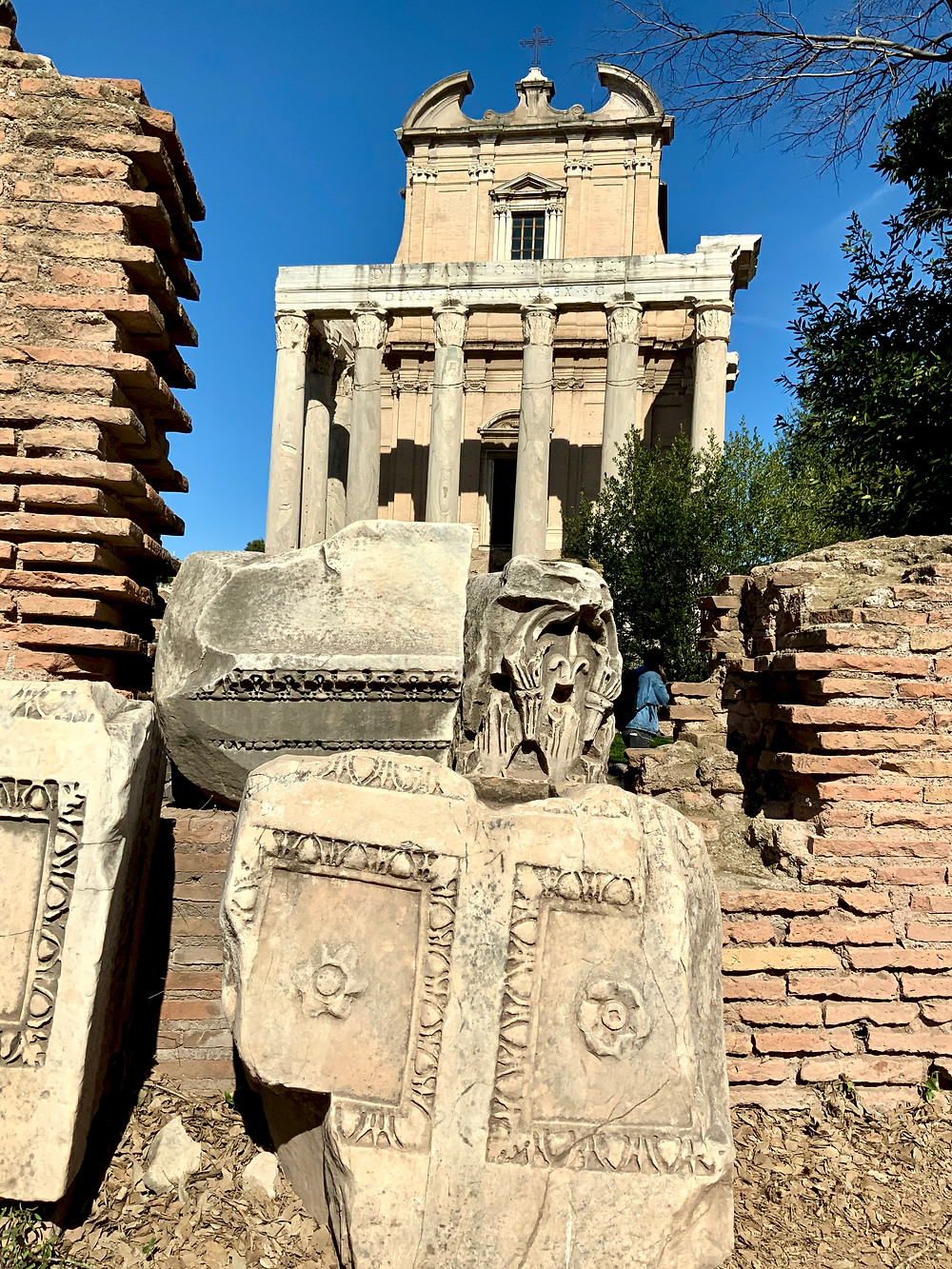 Temple of Antonius and Faustia