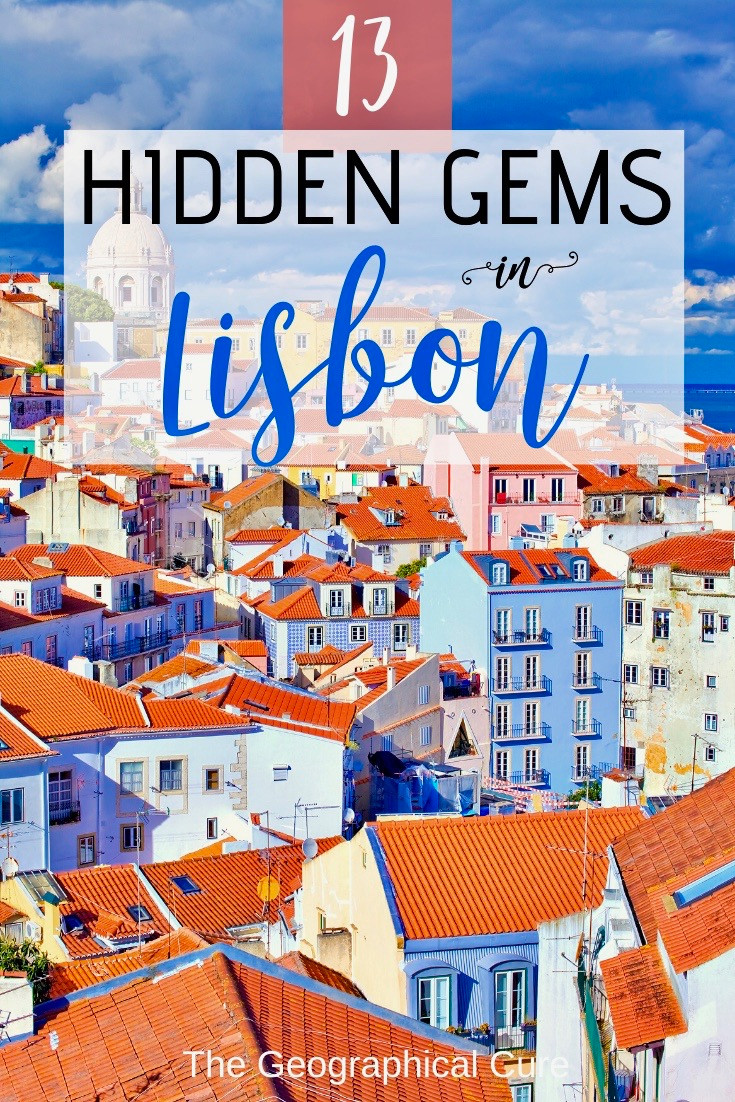 hidden gems and hidden spots in Lisbon Portugal