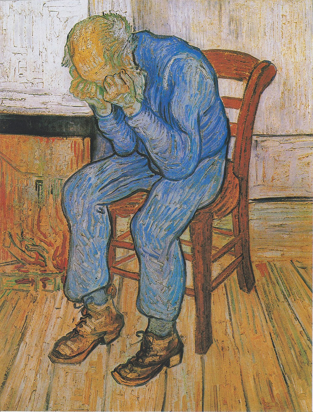 Vincent Van Gogh, Worn Out: At Eternity's Gate, 1890