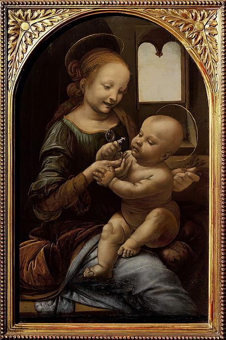 Leonardo da Vinci, The Benois Madonna, 1475-80