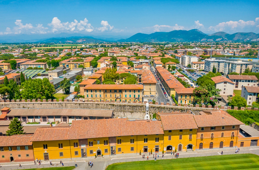 another view from the Leaning Tower of Pisa