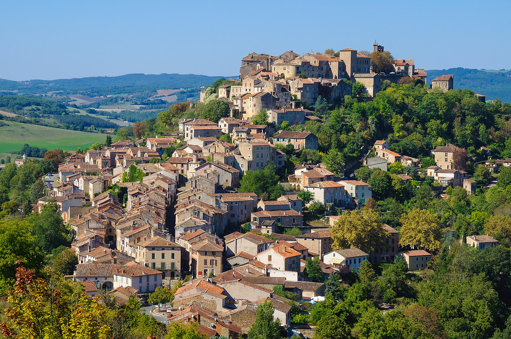 the fetching Cordes sur Ciel, which seems to sit in the sky