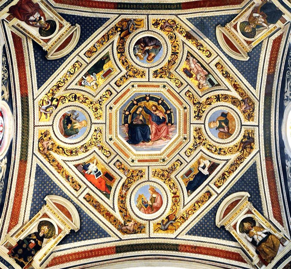 Pinturucchio's Ceiling of the Tribune