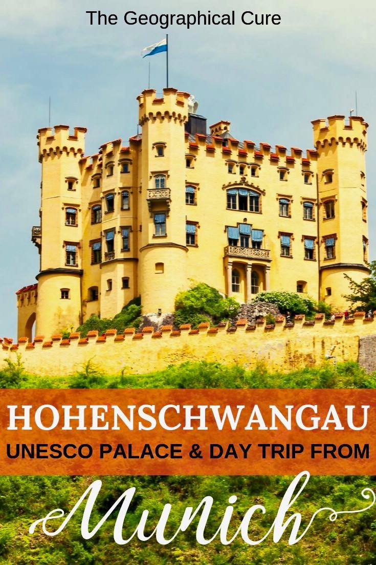 Guide to Hohenschwangau Castle, a hidden gem outside Munich and an easy day trip from Munich