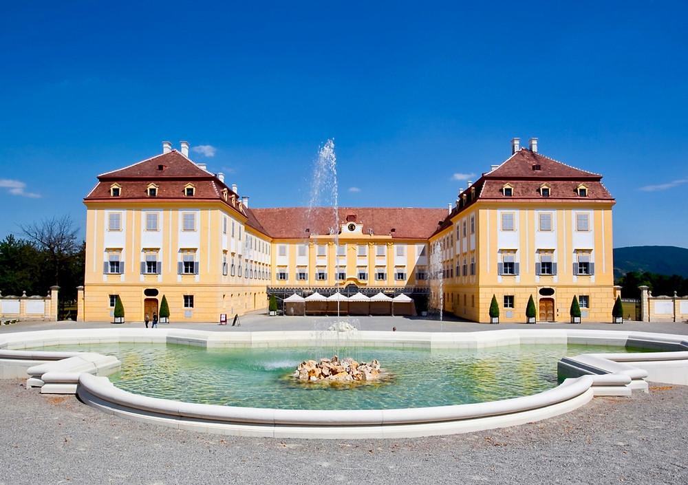Schloss Hof, the rural palace of Hapsburg Empress Maria Theresa, outside Bratislava
