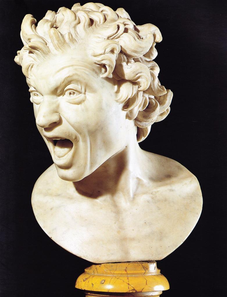 Bernini, Damned Soul, 1619