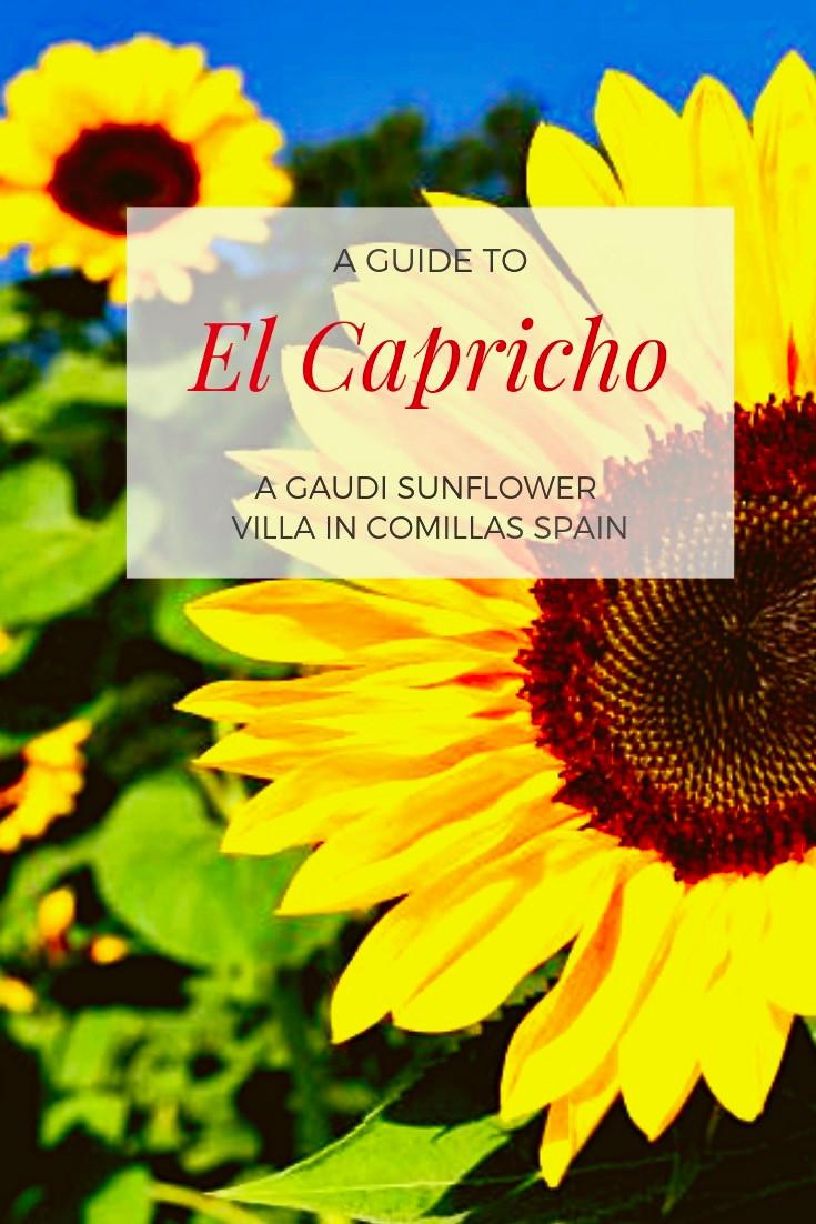 El Capricho, A Gaudi Sunflower Villa in Comillas Spain