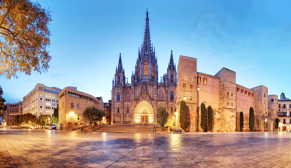 Barcelona Cathedral, a must see landmark in Spain
