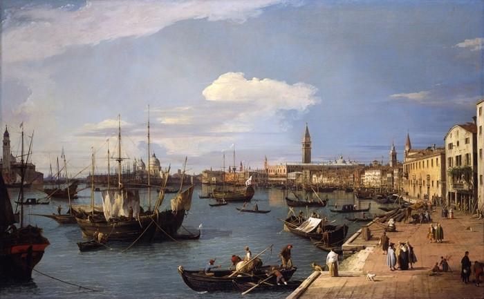 Antonio Canaletto, View of Venice, 1734-35