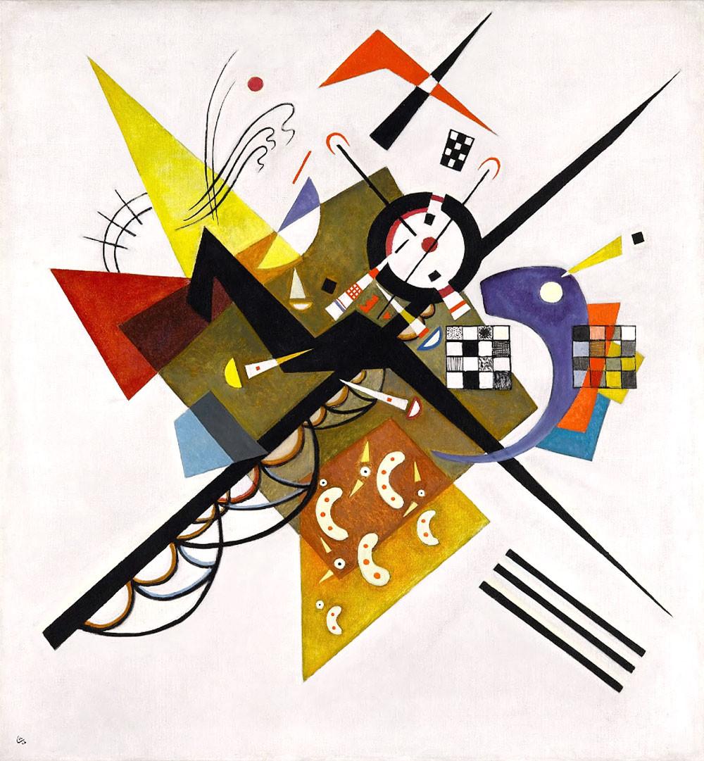 Wassilly Kandinsky, On White II, 192