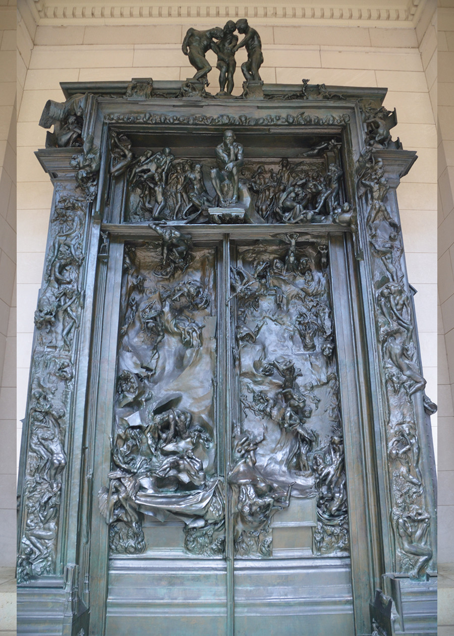 Rodin, Gates of Hell, 1880-1917