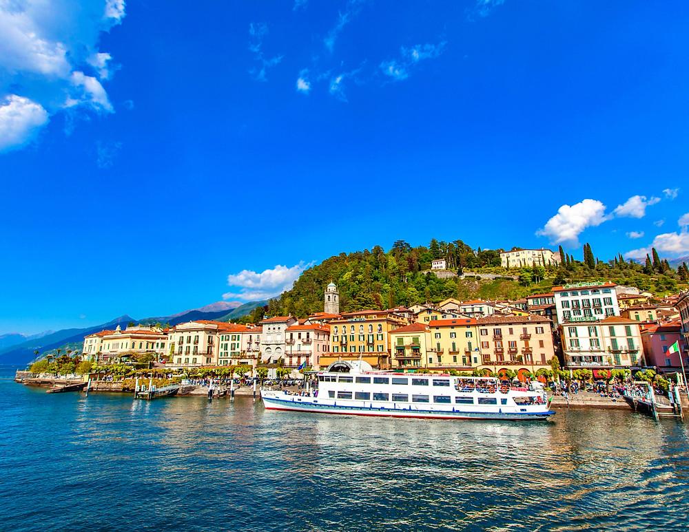 the gorgeous town of Bellagio on Lake Como