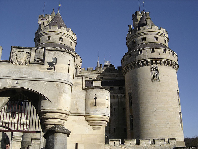 Pierrefonds Castle, an easy day trip from Paris