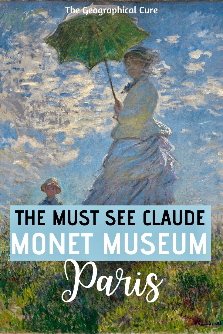 the must see Claude Monet Museum in Paris France, the Musee Marmottan