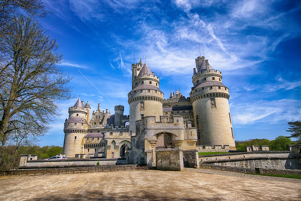 Napoleon's III's Pierrefonds Castle, an easy day trip from Paris