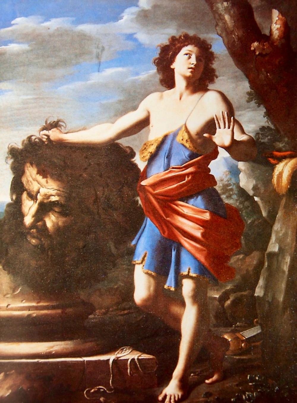Giovanni Domenico Cerrini, David With the Head of Goliath,