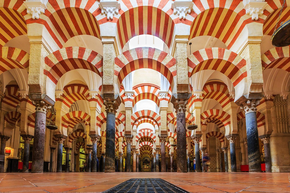 The Mezquita mosque-cathedral in Cordoba Spain