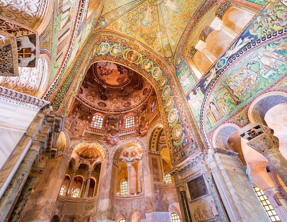 interior of the Basilica of San Vitale