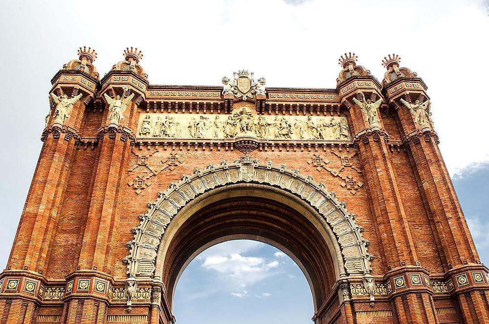 the Arc de Triunfo