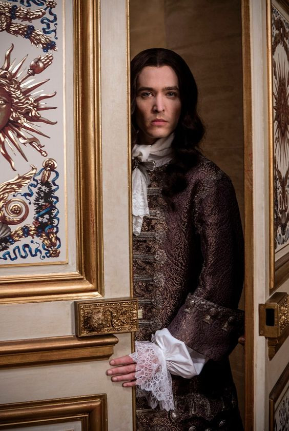 Alexander Vlahos, who plays Louis' brother Philippe
