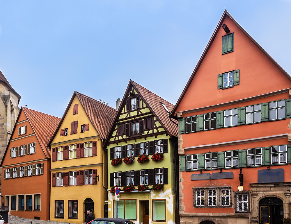 more pretty houses in Dinkelsbuhl Germany