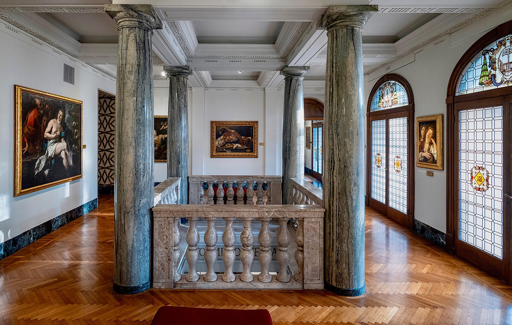 the Ambrosiana Museum in Milan