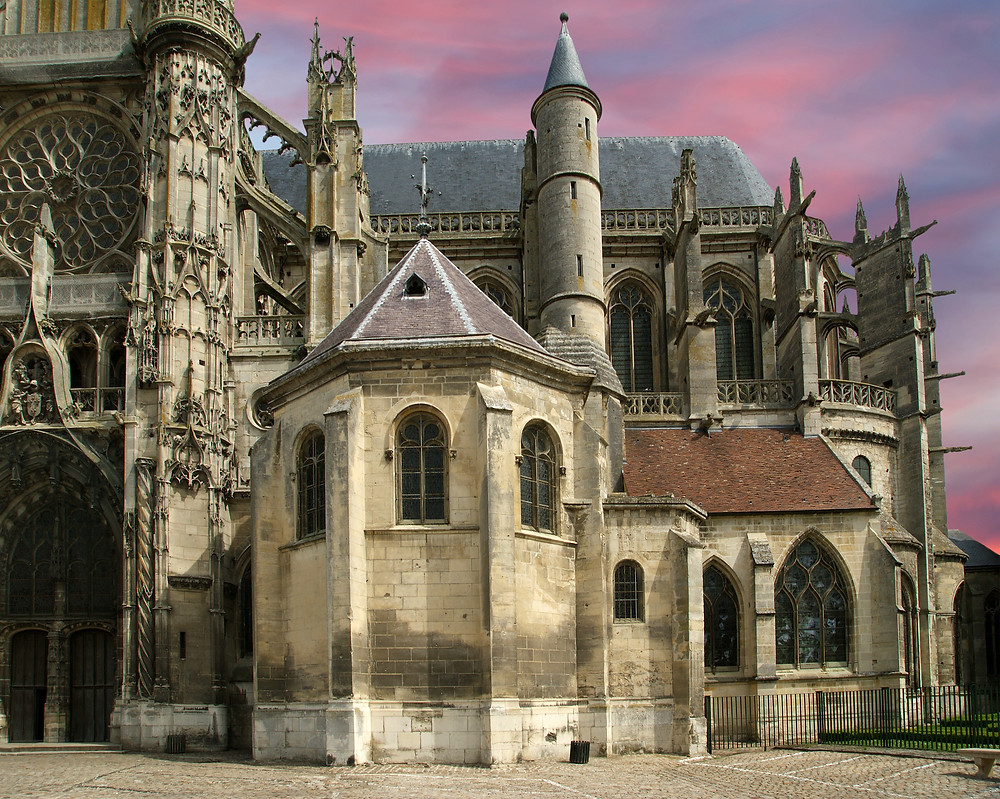 Cathedral Notre Dame de Senlis in Senlis France